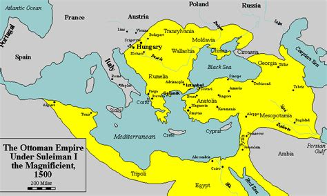 Islam In The Ottoman Empire The Map The Ottoman Empire During Emperor Sultan The Ist Suleiman Khan The Magnificent 15 Th