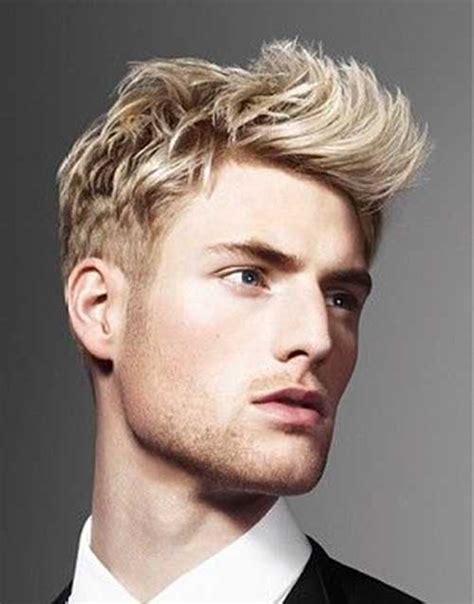 A Short Blonde Hairstyle From The 2015 Mens Collection | best hairstyles for blonde men mens hairstyles 2018