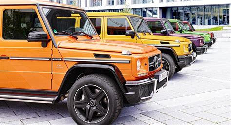 early color new edition 3869303522 crazy color edition introduced for mercedes benz g63 amg and g65 amg benzinsider com a