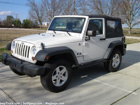 White Jeeps For Sale Used Jeeps And Jeep Parts For Sale 2008 White Jeep