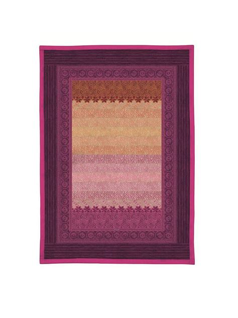 Plaid Tagesdecke by Bassetti Plaid Tagesdecke Quot Appiani Quot 135x190cm Fuchsia Pink