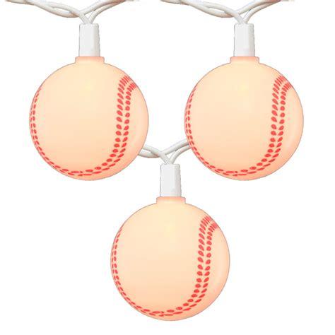 Baseball String - baseball string lights novelty lights 10 lights