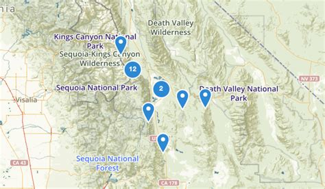 lone pine california map best trails near lone pine california alltrails