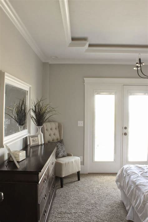 How To Choose Paint Colors For A Tray Ceiling Bedroom Unique Tray Ceiling Sherwin Williams Repose Gray