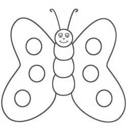 Outline Coloring Page by Coloring Pages Butterfly Coloring Pages For Free