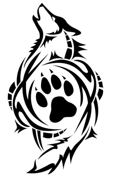 Tribal Wolf Aufkleber by Die Besten 25 Tribal Wolf Tattoos Ideen Auf Pinterest