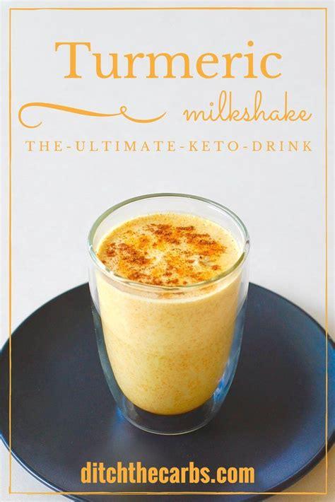 Keto Detox Drink by Keto Turmeric Milkshake Recipe Burning Drinks