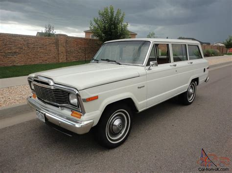 1984 Jeep Grand Wagoneer Specs 1984 Jeep Wagoneer Grand One Owner 39k Original