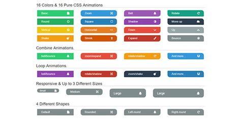 html button color 20 cool css buttons 2017 bashooka
