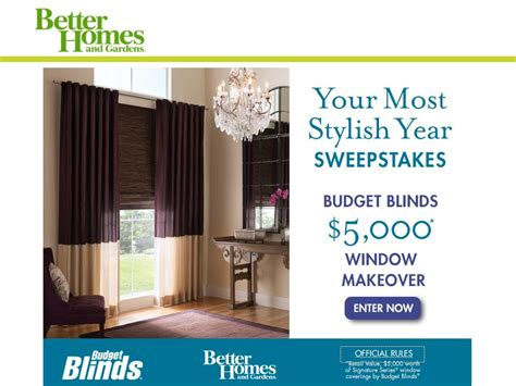 better homes and gardens sweepstakes better homes and gardens your most stylish year sweepstakes sweepstakes fanatics