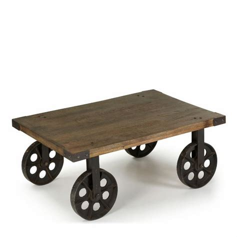 Coffee Table With Wheels Rustic Coffee Table On Wheels Inspiration 106 Red Path