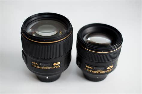 Nikon Af S 85mm F 1 4 G Lensa Kamera Black nikon af s nikkor 105mm f 1 4e ed review and comparison