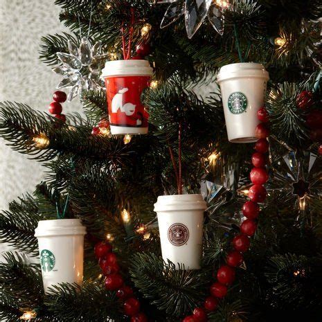 coffee logo starbucks coffee and christmas ornament on