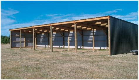 Building A Gambrel Roof by Najika Information 3 Sided Pole Barn Plans