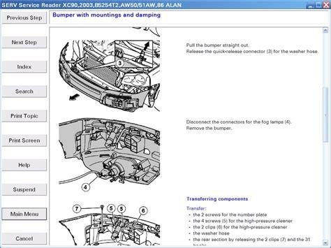 free service manuals online 2010 volvo s40 regenerative braking service manual how to take bumper off 2001 volvo s80 volvo s80 2013 front bumper genuine