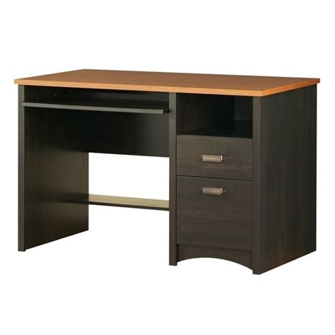 South Shore Computer Desk South Shore Gascony Collection Small Wood Computer Desk In 7378070