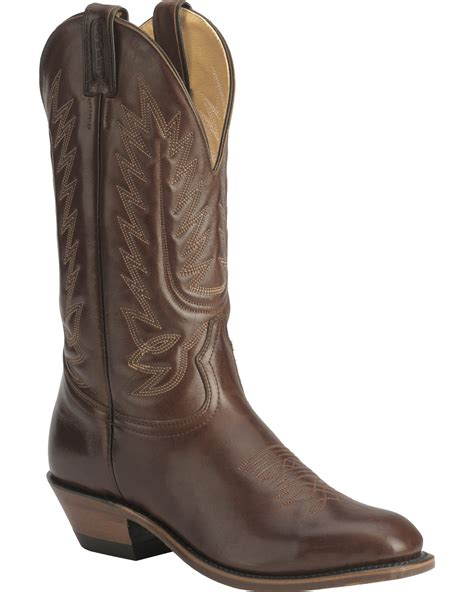 dressy cowboy boots boulet s 13 quot western dress toe cowboy boots boot barn