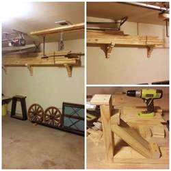 Garage Lumber Storage Ideas 6 Simple Diy Garage Storage Solutions You Can Do Today