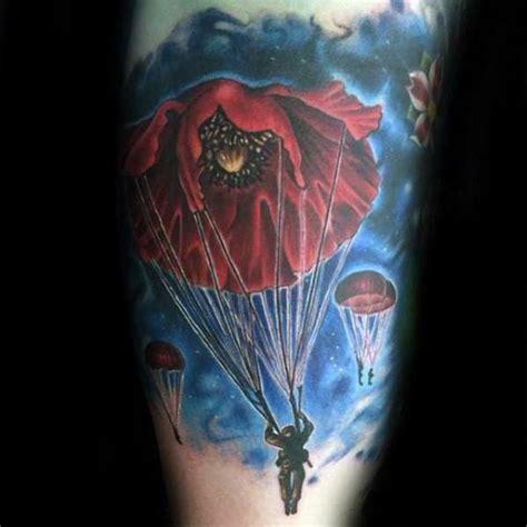 parachute tattoo designs 30 parachute designs for sky diving ink ideas