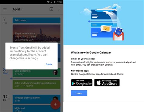 gmail will now automatically add calendar events