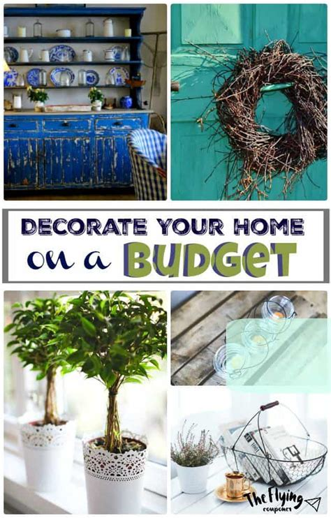 decorate your home on a budget how to decorate your home on a budget the flying couponer
