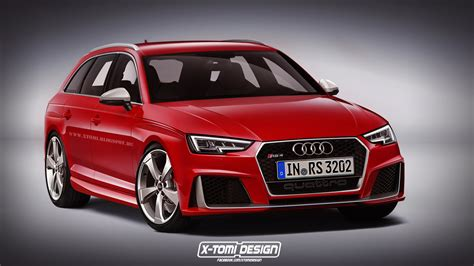 audi rs4 new all new audi rs4 to debut at frankfurt 2017 with