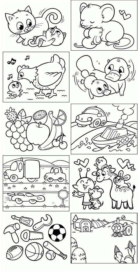 opposites coloring pages for toddlers opposites coloring page coloring home