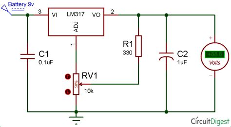 adjustable voltage regulator resistor calculator 28