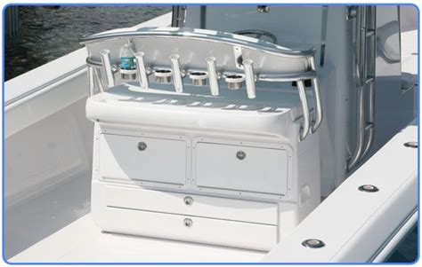saltwater fishing boat seats our 50 inch fiberglass combination rocket launcher