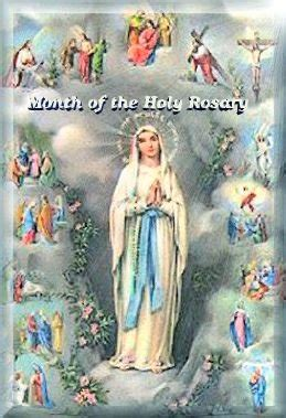 Feast On A Month Of October 2012 Holy Rosary Edition From October 1 October 13