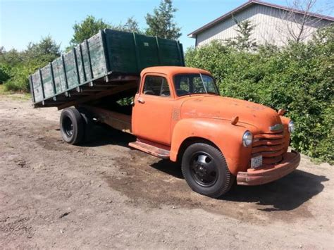 chevy semi truck 1952 chevy truck semi rat rod dually 47 48 49 50 51 53