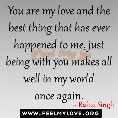 the best you had you are the best thing in my quotes quotesgram
