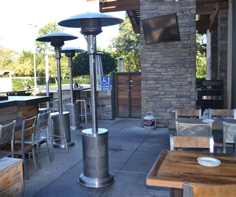 Patio Space Heater Patio Heating Services Lava Propane
