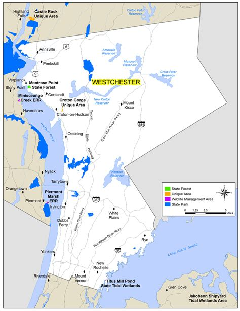 westchester county map westchester county new york map