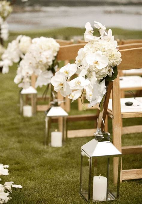 outdoor wedding aisle ideas 2 outdoor wedding aisle decorations lanterns with white candles aisle decor