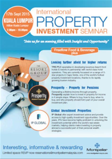 international property investment seminar | british