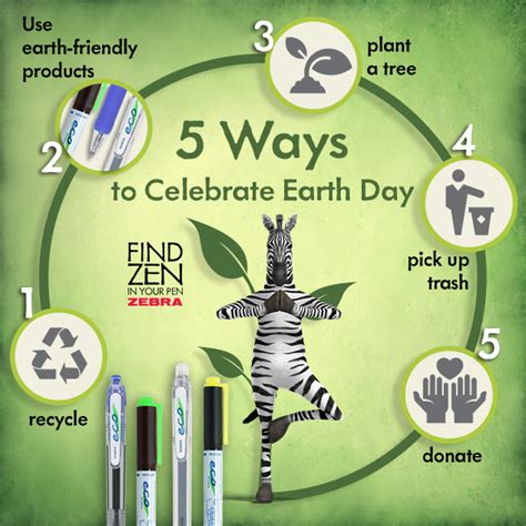 celebrate earth day recycled earth day by cardsdirect 5 ways to celebrate earth day zebra pen