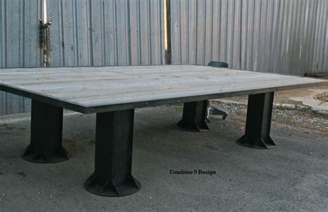 vintage industrial office furniture buy made vintage industrial confernce table mid century reclaimed wood custom sizes
