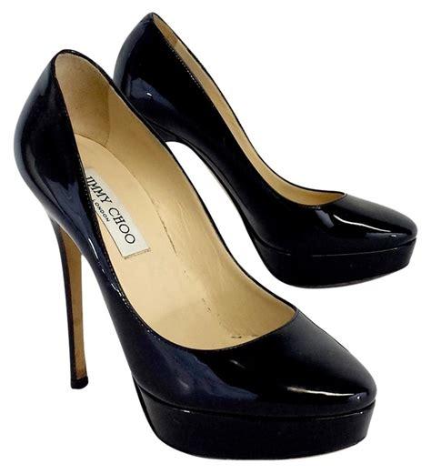jimmy choo on sale jimmy choo black patent leather platform pumps pumps on sale