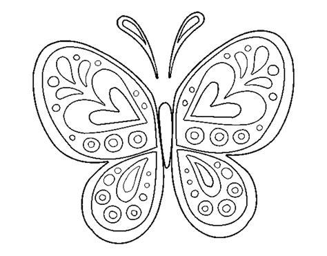 imagenes de mandalas de mariposas para colorear coloring page butterfly mandala color online coloringcrew