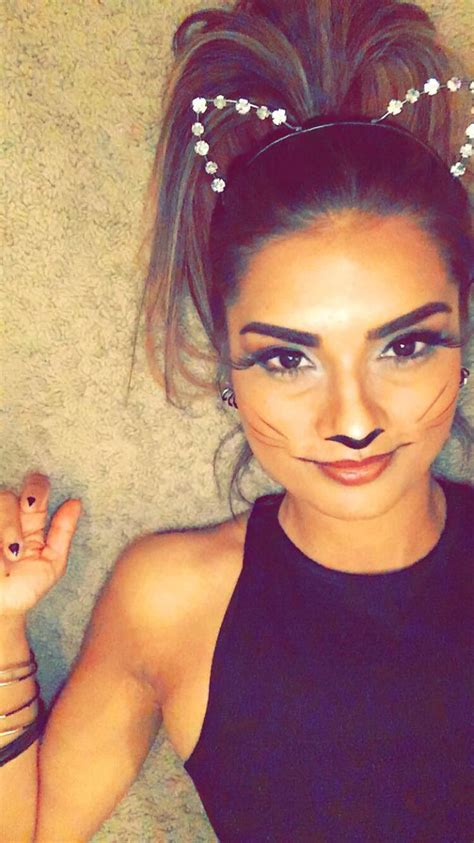 cat costume hairstyles cat makeup cat costume cat nails halloween 2015 simple