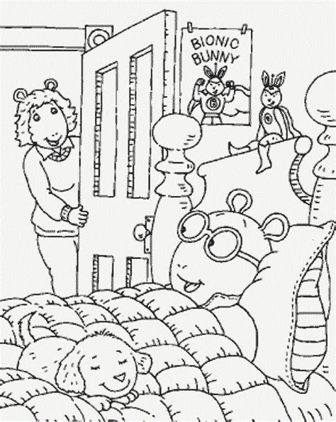 arthur coloring pages free printable arthur coloring pages for