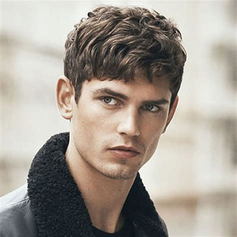boys swept across fringe hairstyles men s fringe hairstyles bangs for men