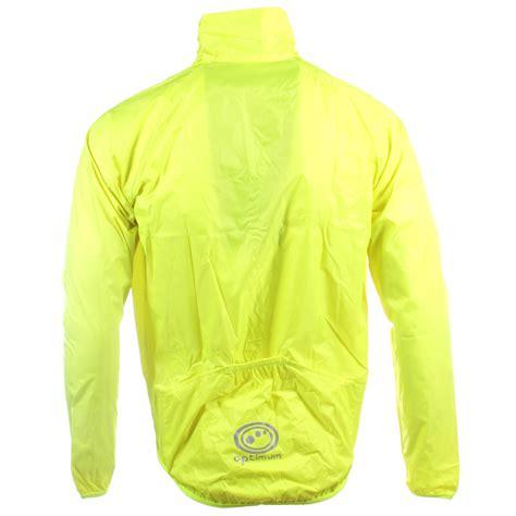 lightweight cycling rain jacket optimum mens lightweight hi vis rain jacket running