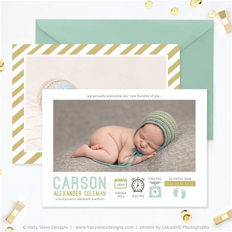 Baby Announcement Calendar Template