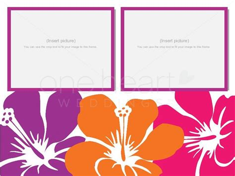 hawaiian powerpoint template hawaiian wedding powerpoint slide 3