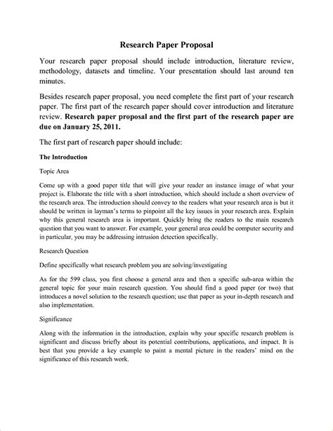 format proposal for a research paper 7 research paper proposal template timeline template