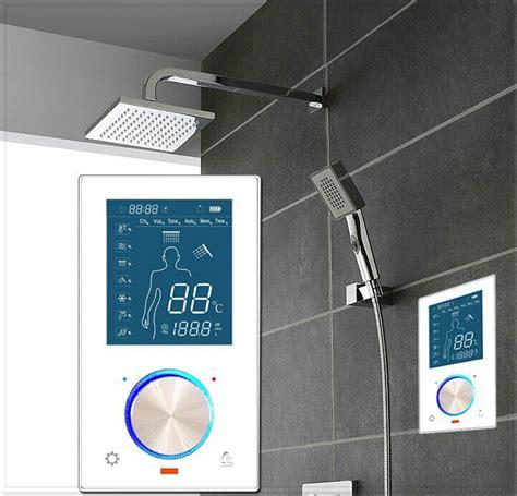 bathroom control digital shower control system