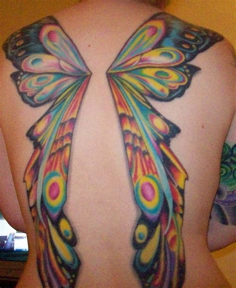 fairy wings tattoo 54 wings tattoos ideas