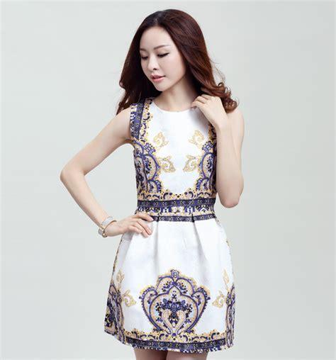 Jfashion Korean Style Midi Dress Motif Dotted korea fashion dress ld6066 11street malaysia midi